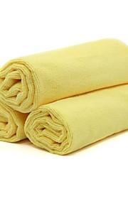 3pcs t22452 tirol coche de microfibra de limpieza toalla productos de lavado de 60 * 40cm coche paño de limpieza