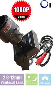 1080p CCTV camera mini ip camera 2.8-12mm lens 2megapixel industriële mini pinhole netwerkcamera
