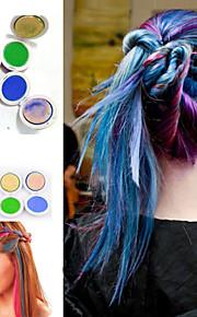 Hårfarge Kan brukes på vått og tørt hår Fargebeskyttende / Fargebevarende Lettvekt Dyp Vin / Akvamarin / Smaragd Normal