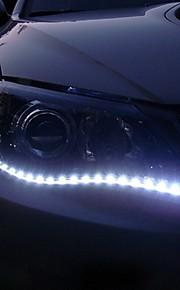 ziqiao 2pcs / lot 30cm 15 smd wit waterdicht lichten high power auto auto decor flexibele ledstrips