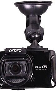 CAR DVD - 2 MP CMOS - 2048 x 1536 - G-sensor / Video ud / GPS / Vidvinkel / 1080P / Anti-stød