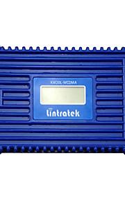 lintratek® lcd display 3g signal booster W-CDMA 2100 umts mobiltelefon signal booster forstærker