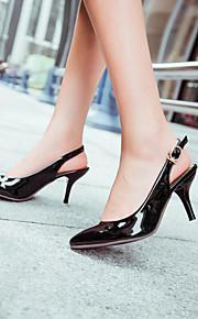Women's Shoes Heel Heels / Pointed Toe Heels Office & Career / Dress / CasualBlack / Blue / Green / Pink / Purple /