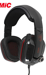 somic G909 hot 7.1 virtual surround sound usb gaming headset med vibrerende funktion mic&stemmestyring