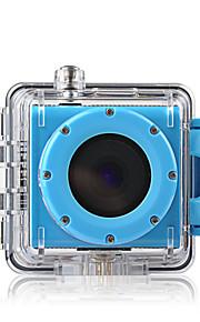 MEEE GOU MEE+2 Sportskamera 1.5 12MP 1920 x 1080 60fps 20x 2 CMOS 32 GB H.264 Engelsk Enkeltfoto 30 M PraktiskDykning / Skøjte /