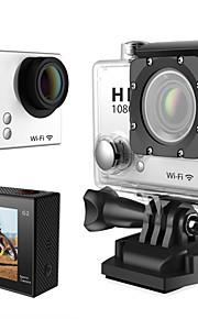 SDV011E Sportskamera/GoPro Style-kamera 2 12MP 1920 x 1080 / 1280x960 / 640 x 480 / 1024 x 768 30fps Nej ± 2 EV CMOS 0 GB H.264Russisk /