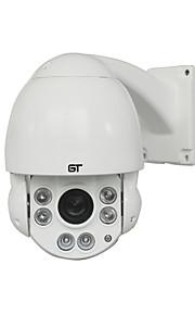 gt 1080p HD esterno con 4,5 pollici zoom ottico 10x della telecamera dome PTZ IP velocità media