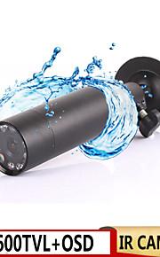sony waterdichte ccd OSD camera mini kogel buiten onzichtbaar 10st ir 940nm leds 0 lux nachtzicht CCTV-camera