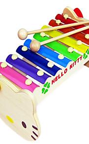 pelaajan piano-- puisia soittimia lapsille (3-6 vuotta)