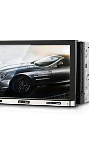 "7 ""2 din auto dvd-speler sd bluetooth GPS-navigatie-interface ipod touch screen"