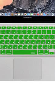XSKN russisch toetsenbord cover siliconen huid voor MacBook Air / MacBook Pro 13 15 17 inch VS / EU-versie