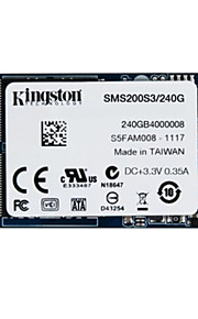 kingston digitale 240GB SSDNow MS200 mSATA (6Gbps) solid state drive voor notebooks tablets en ultrabooks sms200s3 / 240g