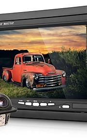 "7 ""LCD digitale kleuren scherm auto-monitor + 2,4 GHz draadloze back-up achteruitrijcamera"
