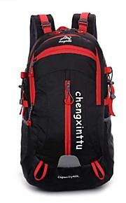 40L L mochila Acampada y Senderismo / Viaje Al Aire Libre Impermeable / Cremallera a prueba de agua / TranspirableVerde / Rojo / Negro /