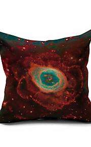 Milky Way of Stars Cotton/Linen Pillow Cover Nature Modern/Contemporary Pillow Linen Cushion