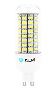 Ampoules Maïs LED Blanc Chaud / Blanc Froid 1 pièce T G9 18W 89 SMD 5730 1800 lm AC 100-240 V