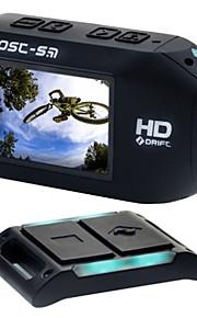Foream GHOST-S Sportskamera 1 1920 x 1080 10x CMOS 64 GB H.264 Engelsk 50 MVandtæt / Alt i en / Justérbar / Trådløs / Anti-Shock / WIFI /