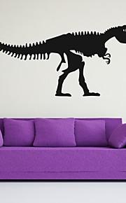 חיות / רומנטיקה / אופנה / אבסטרקט / פנטזיה מדבקות קיר מדבקות קיר מטוס,PVC M:42*97cm / L:55*128cm