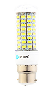 Ampoules Maïs LED Blanc Chaud / Blanc Froid 1 pièce T B22 18W 89 SMD 5730 1800 lm AC 100-240 V