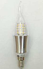 1 stk. kwb E14 9W 45 SMD 2835 850 lm Varm hvit / Kjølig hvit C35 Dekorativ LED-lysestakepærer AC 85-265 V