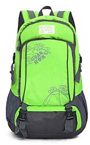 40L L mochila Acampada y Senderismo / Viaje Al Aire Libre Impermeable / Cremallera a prueba de agua / TranspirableAmarillo / Verde / Rojo