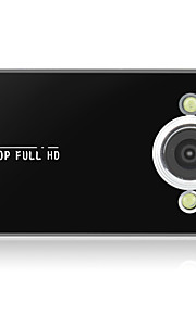 HD / Bewegingsdetectie / 1080P-2MP CMOS-3264 x 2448-CAR DVD