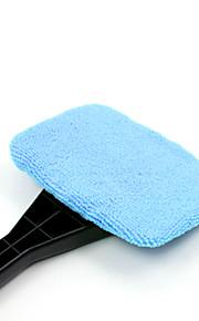 El Tirol del parabrisas limpio ventana de vidrio limpio fácil del limpiador del coche brillo automático rápido cepillo de mano lavable