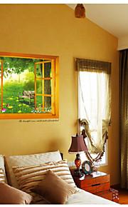 Dyr / Still Life / Blomster / Landskab Wall Stickers 3D mur klistermærker,pvc 50*70cm