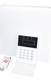 sistema di allarme con centrale di allarme intelligente (8 wired e wireless 16)