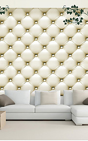 JAMMORY Art Deco Wallpaper Contemporary Wall Covering,Other A Large Mural Wallpaper Simulation Soft Leather Bag