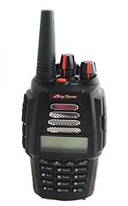 anytone at-398uv håndholdt tovejs radio uv dual band 136-174mhz& 400-480mhz