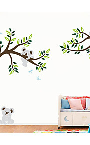 Dyr / Botanisk Wall Stickers Fly vægklistermærker,PVC 60X5X5