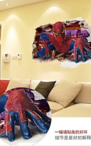 Cartoon WALL DECALS People / Fantasy Wall Stickers 3D Wall Stickers For Home Decor,PVC 60*90CM