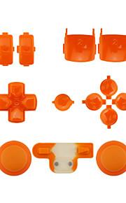 udskiftning controller tilfælde monteringssæt indstillet til ps3 orange / lilla / pink