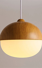 Northern Europe Style wood grain Glass Pendant Lights Restaurant,Cafe ,Game Room light Fixture