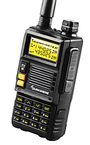 QUANSHENG TG-45UV Walkie-talkie 4-5W 2500mAh 400-470 mHz / 136-174 mHz 2500mAh 3-5 kmFM-radio / Nødalarm / Programmerbar med PC software