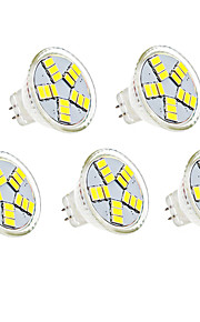Spot LED Décorative Blanc Chaud / Blanc Froid HRY 5 pièces MR11 G4 4W 15 SMD 5730 350lm lm DC 12 V