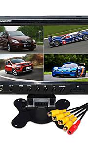 9 inch hd quad-TFT-LCD auto achteruitkijkspiegel-monitor met stand achteruit back-up camera van hoge kwaliteit