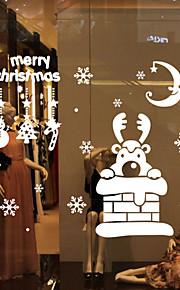 חיות / כריסטמס / מילים וציטוטים / רומנטיקה / חג / צורות מדבקות קיר מדבקות קיר מטוס,vinyl 73*63cm