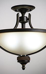 MAX 40W Tradicional/Clásico Mini Estilo Pintura Metal Lámparas ColgantesSala de estar / Dormitorio / Comedor / Habitación de