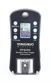 yongnuo® draadloze flitser trekker& ontspanknop rf-605n rf605n voor nikon