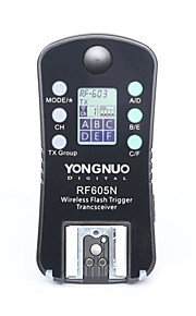 yongnuo® innesco flash senza fili& scatto RF-605n rf605n per nikon