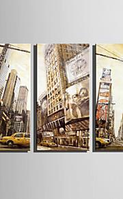 Paisagem Impressão em tela 3 Painéis Pronto para pendurar,Vertical