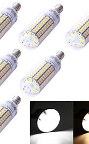 Ampoules Maïs LED Décorative Blanc Chaud / Blanc Froid YouOKLight 6 pièces T E14 5W 99 SMD 5730 350 lm AC 100-240 / AC 110-130 V