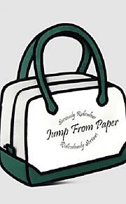 GPF 3D Three-dimensional Cartoon Satchel Laptop Bag Tote