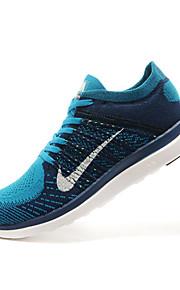 mens Nike Free 4.0 i flyknit käynnissä lenkkarit kengät sininen / oranssi / vihreä