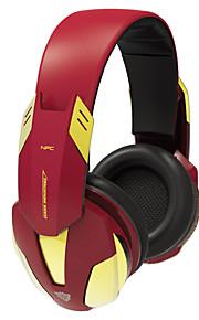 e-blå ebt910 Iron Man 3 trådløs bluetooth 4.0 i løpet earheaadphones for spill