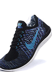 Nike Free Flyknit 4.0 II Mens Running Sneakers Training Shoes Blue Gray Green Brown