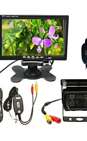 Rear View CameraSensore CCD da 1/4 di pollice-170°-480 linee tv disponibili