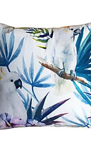 New Design Print Birds Parrot Decorative Throw Pillow Case Cushion Cover for Sofa Home Decor Soft Material